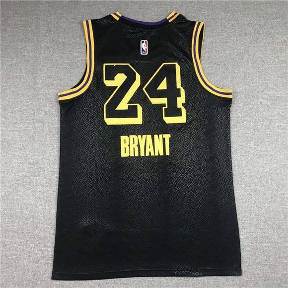 NBA Shirts | Kobe Jersey City Edition Commemorative Black Mamba ...